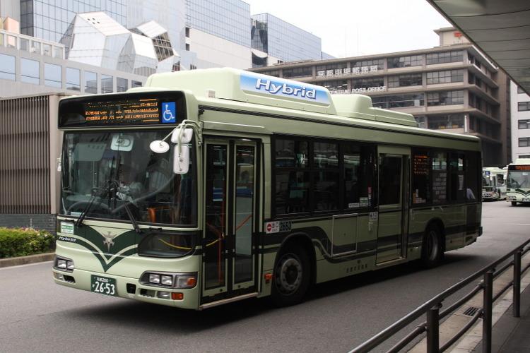 京都市バス2653