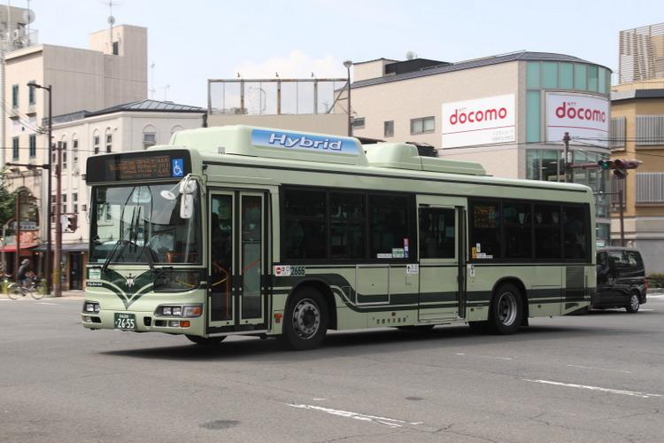 京都市バス2655