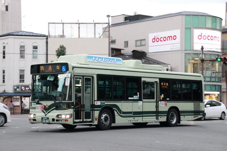 京都市バス2664