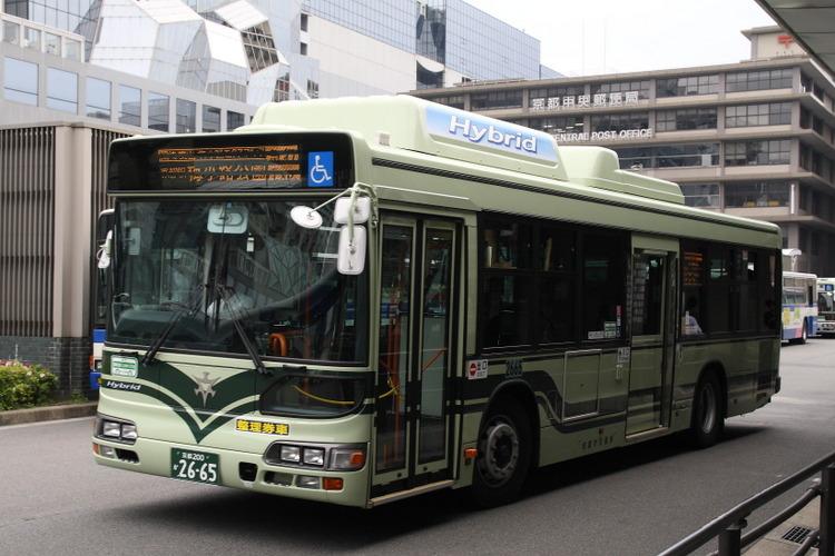 京都市バス2665