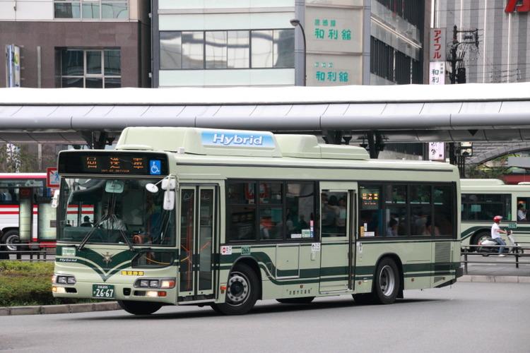 京都市バス2667
