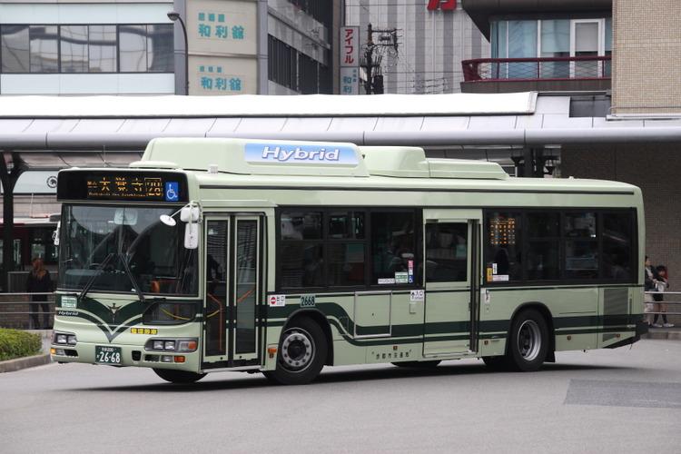 京都市バス2668