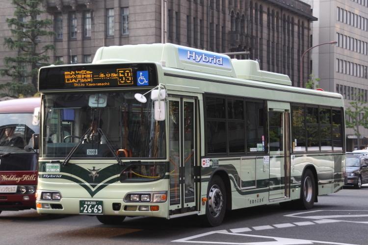 京都市バス2669