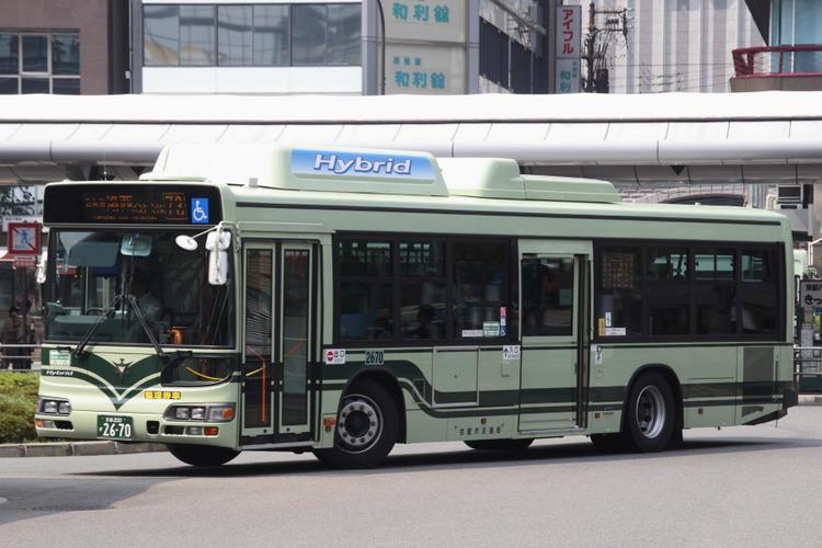 京都市バス2670