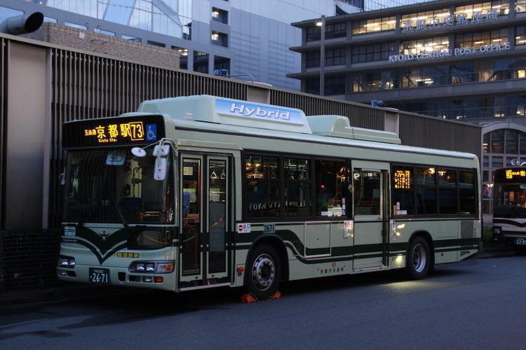 京都市バス2671