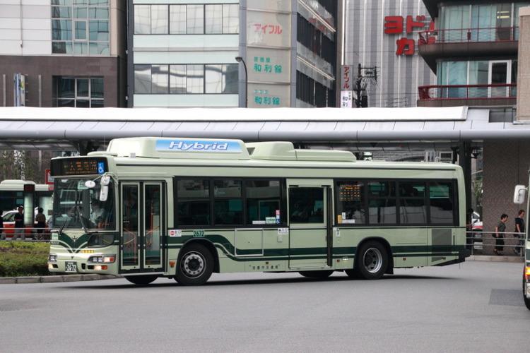 京都市バス2672