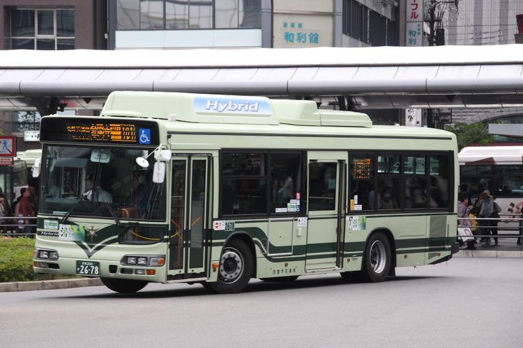 京都市バス2678