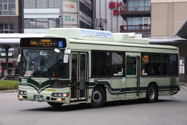 京都市バス2684