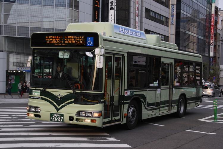 京都市バス2687