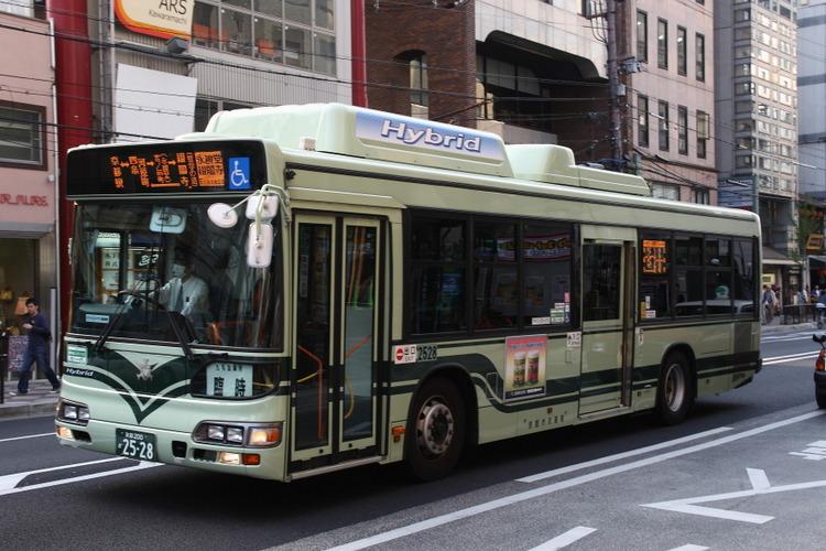 京都市バス 京都200か2528 日野LJG-HU8JMGP