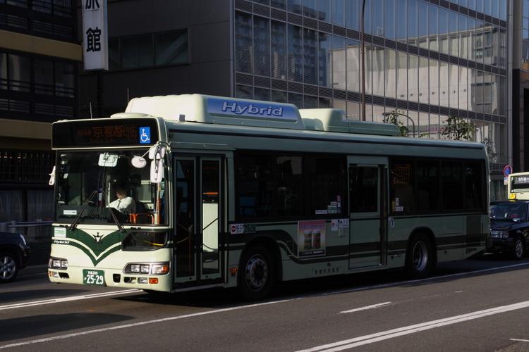 京都市バス 京都200か2529 日野LJG-HU8JMGP