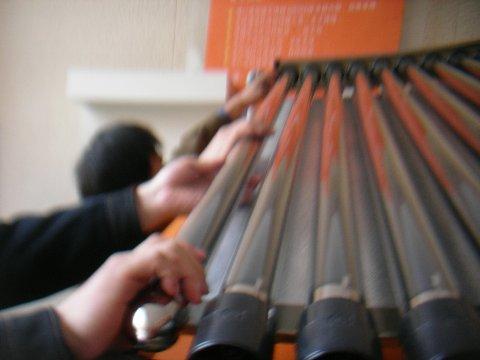 真空管太陽熱温水器