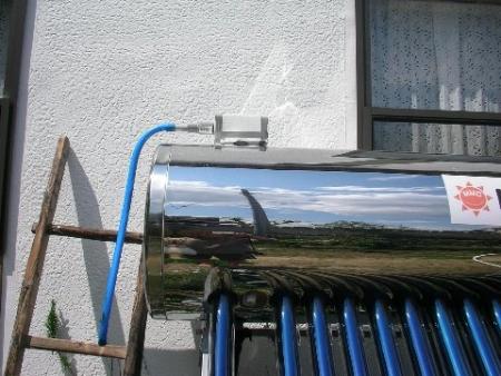 給湯器への接続と錆