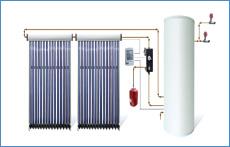 水道直圧型太陽熱温水器
