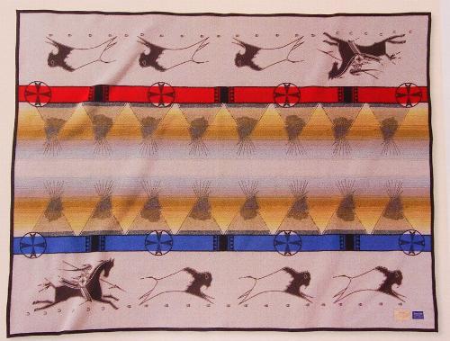 Lakota Way Of Life Blanket