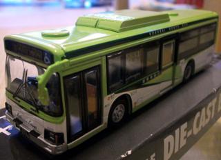 国際興業バス(京商・ダイキャスト製)