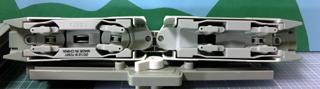 「東京モノレール2000形セット」2000形車両 床下