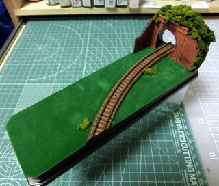 完成したトンネル部分