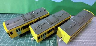 西武鉄道9000系プラレール 屋根