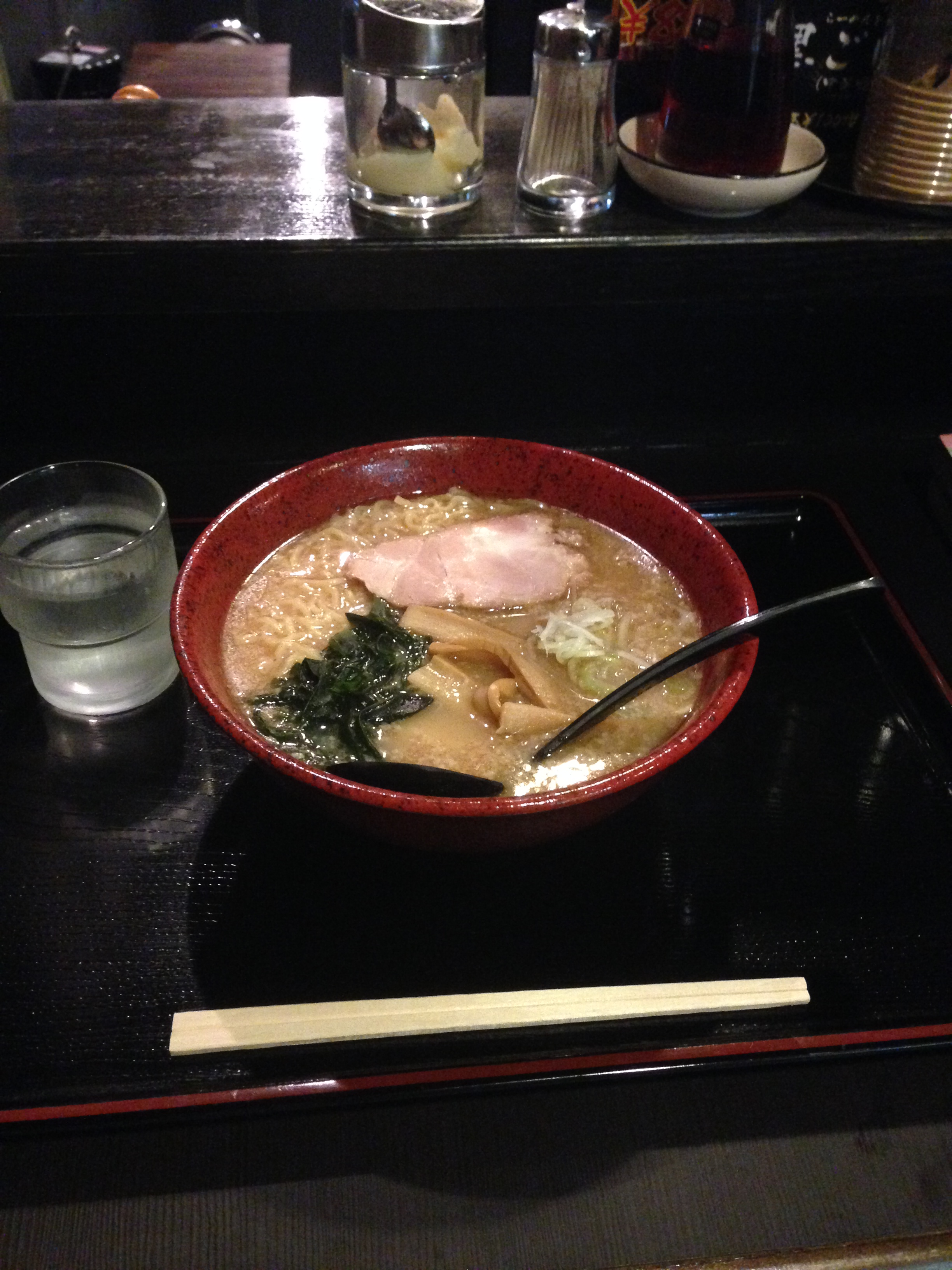 麺龍 白ぶし680円