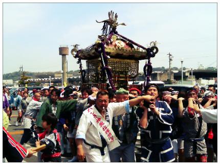 小名浜諏訪神社神輿