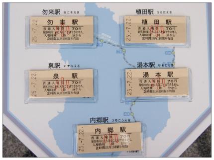 記念切符5
