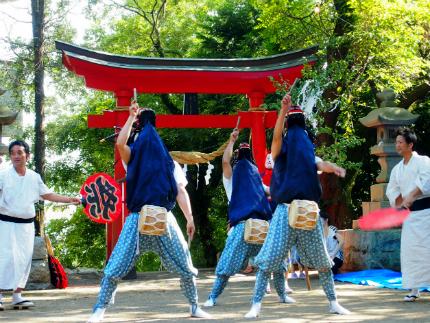 赤井諏訪神社例大祭6