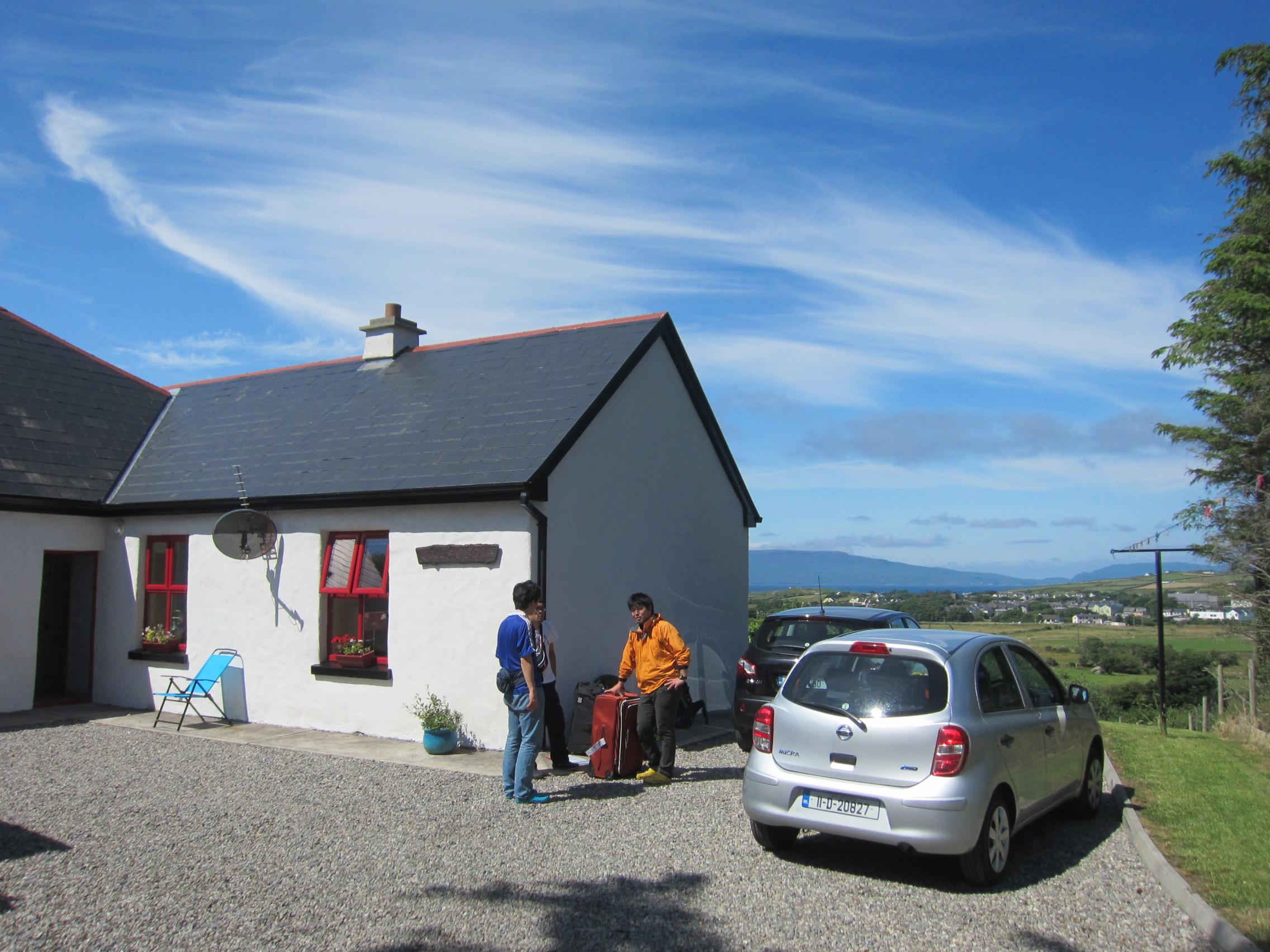 アイルランドの天気 ウェストポートWestport 清々しい晴れ