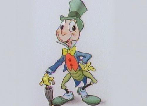 ピノキオに登場するジミニー・クリケットの初期デザインがすごい