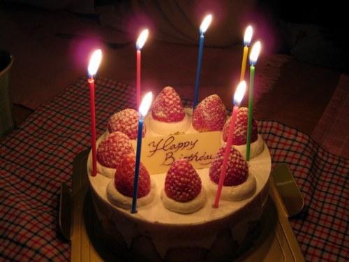 バースデーケーキにローソク100本立てた結果