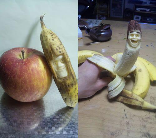 「そんなバナナ」 世界が驚愕したバナナアート