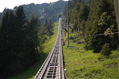 世界一長いスイスの階段