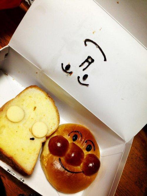 しょくぱんまんがただの食パンに・・・