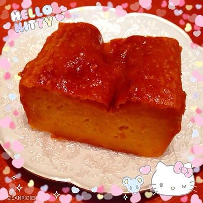 かぼちゃプリンケーキ