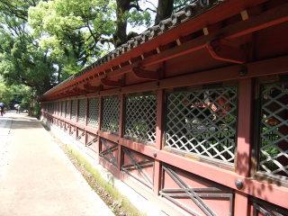 根津神社透塀
