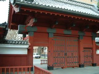 赤門(旧加賀屋敷御守殿門)