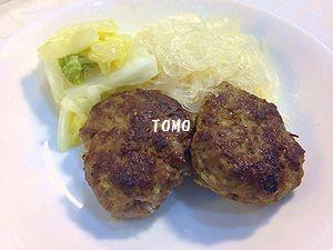 白菜と肉団子の蒸し煮