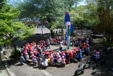 2006-11-21 25年度鯉のぼり披露25年4月22日 010 (800x535)