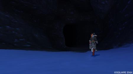 ロンダの氷穴入口R