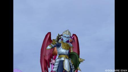 羽根の生えた戦士R