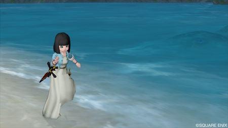 浜辺を走る1_R