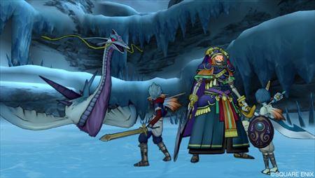 妖剣士オーレン強と水竜ギルギッシュ強_R