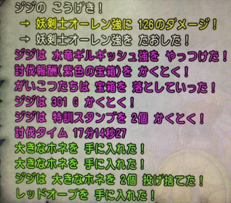 妖剣士オーレン強と水竜ギルギッシュ強撃破 - コピー_R