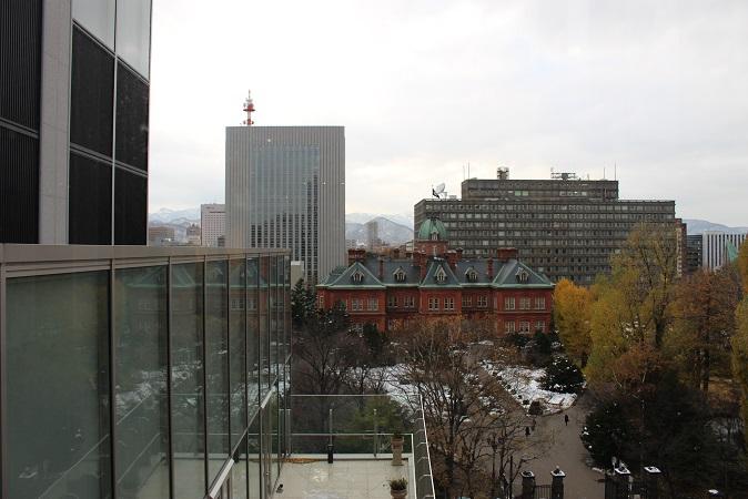 2014北海道旅行:赤レンガテラス 眺望テラス