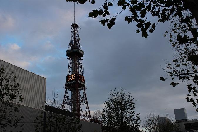 2014北海道旅行:テレビ塔