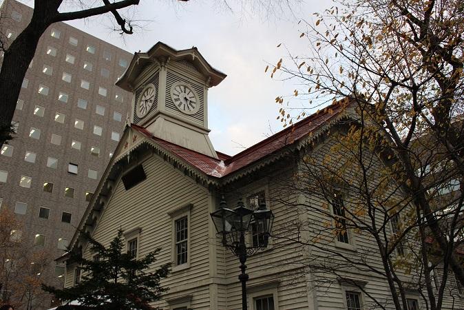 2014北海道旅行:時計台2