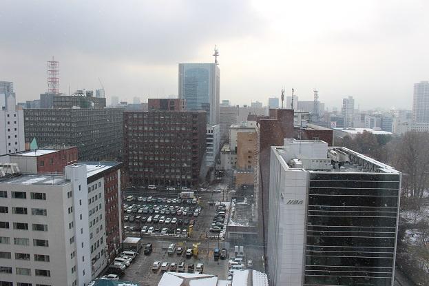 2014北海道旅行:ホテル 雪