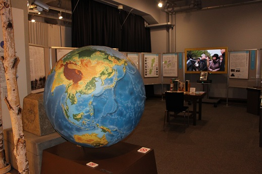 2014北海道旅行:北海道大学 総合博物館 2F 地球儀