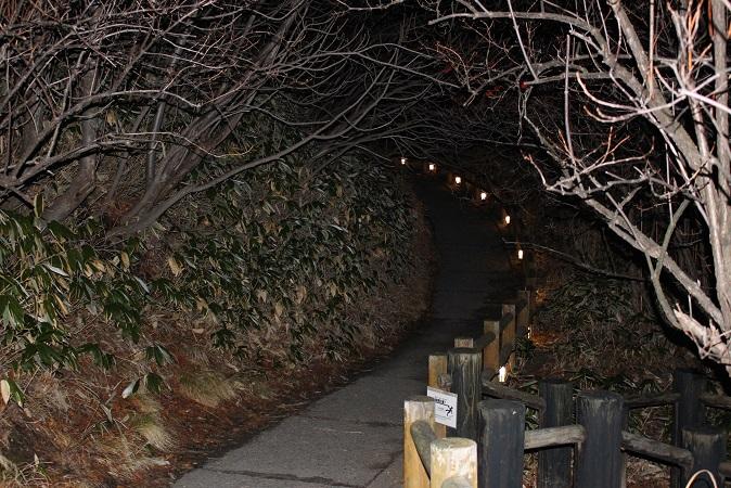 2014北海道旅行:登別温泉 地獄谷 遊歩道