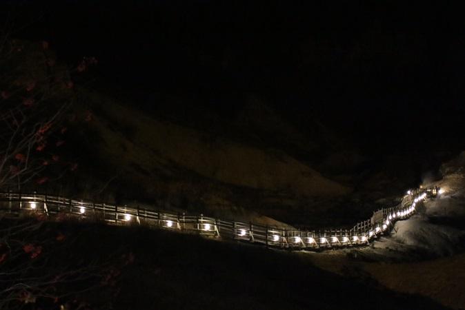2014北海道旅行:登別温泉 地獄谷 遊歩道3